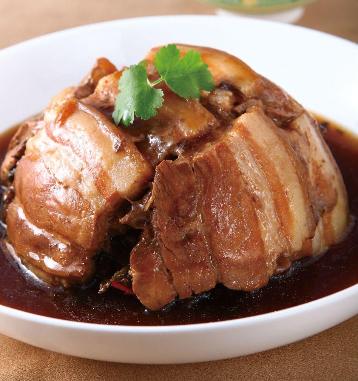 食譜:梅干扣肉(9)