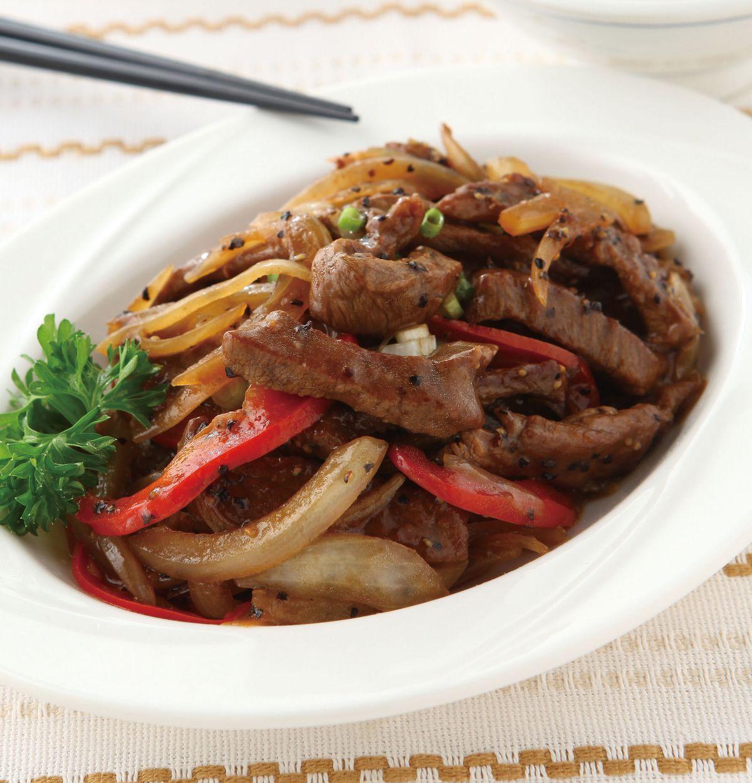 食譜:黑胡椒牛柳(3)