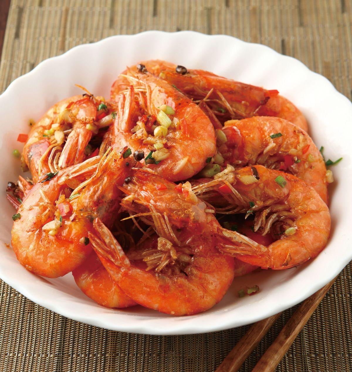 食譜:鹽酥蝦(5)
