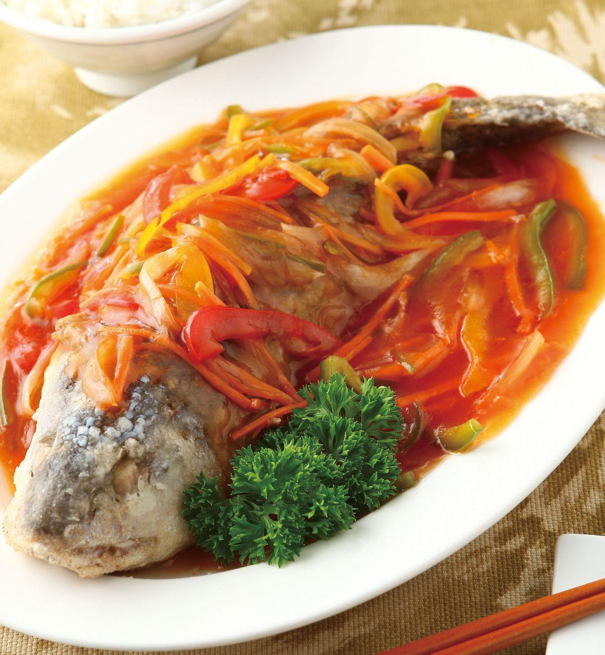 食譜:糖醋魚(13)