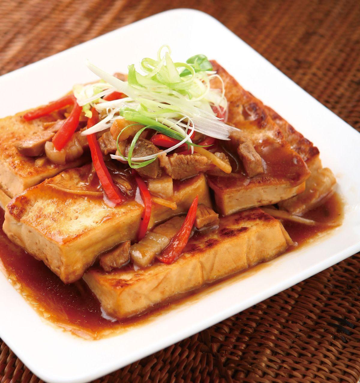 食譜:紅燒豆腐(9)
