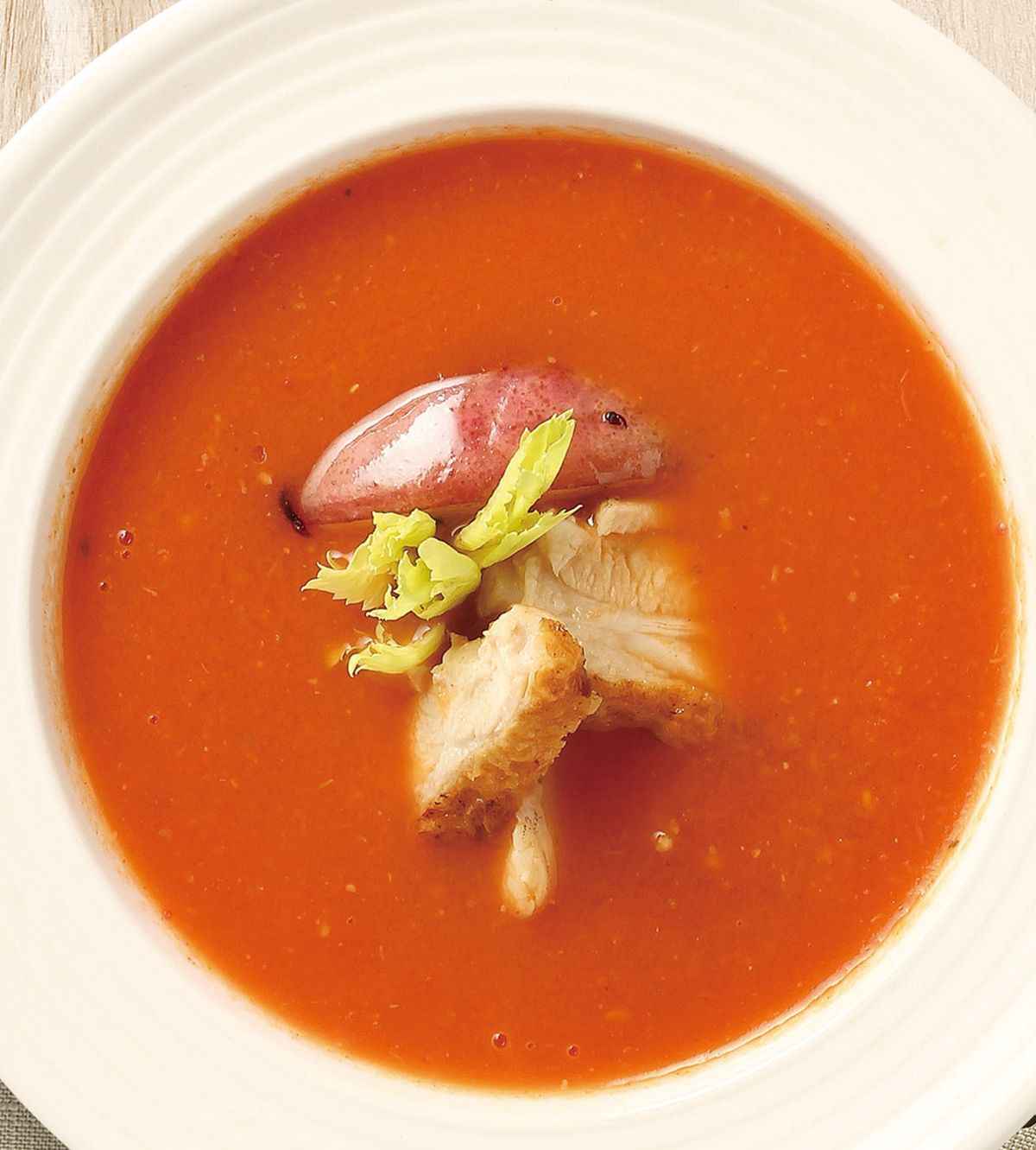 食譜:番茄雞肉濃湯