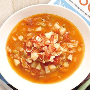 義式鮮蝦蔬菜湯