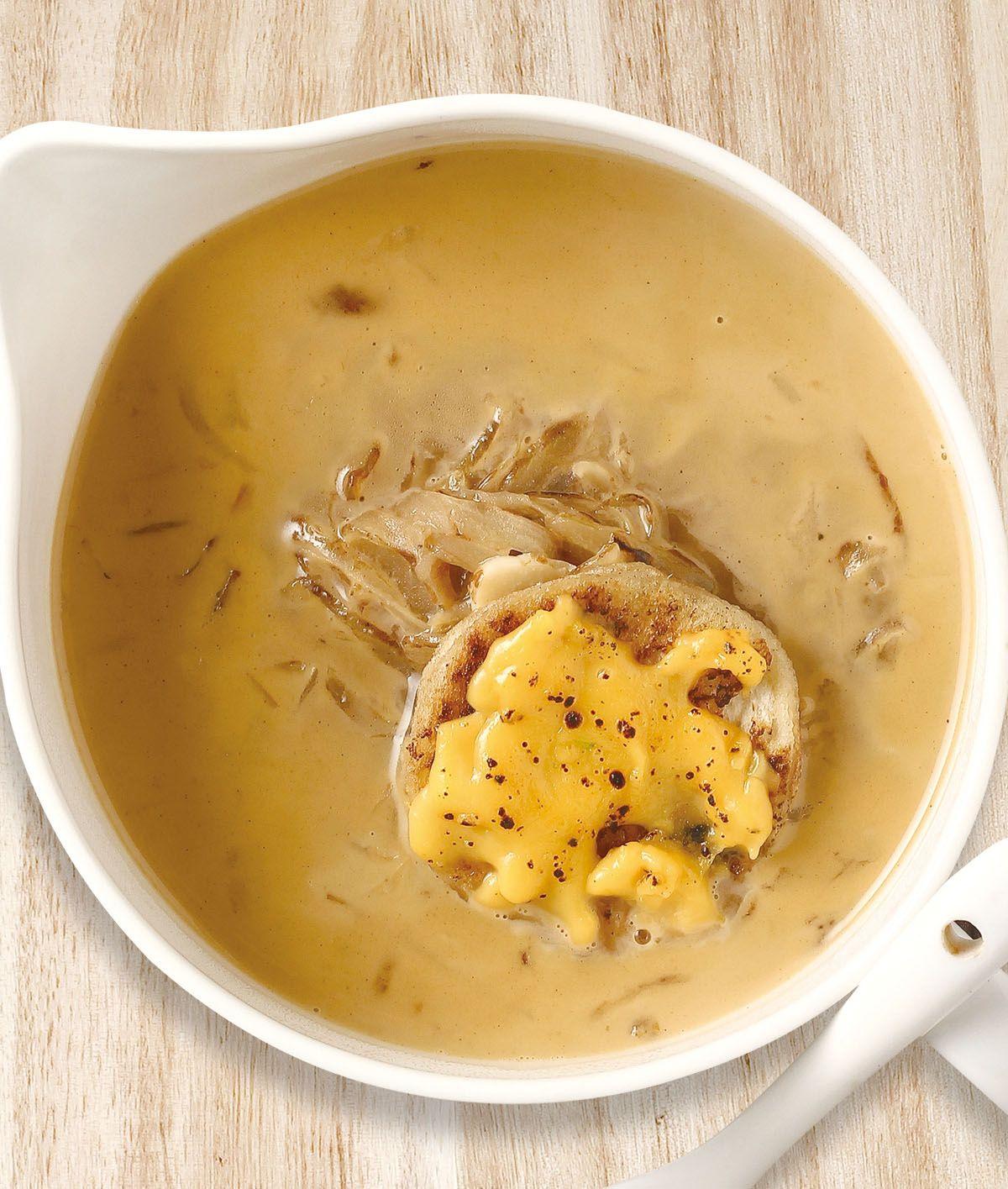 食譜:洋蔥起司濃湯(1)