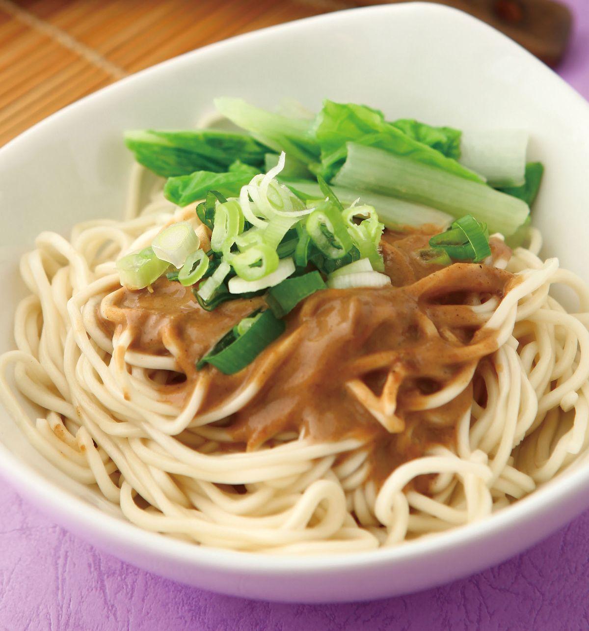 食譜:麻醬麵(1)