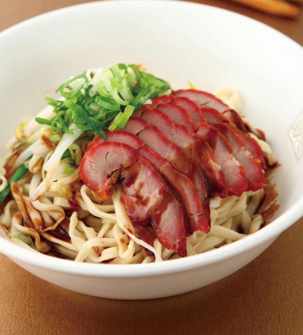 食譜:叉燒撈麵(1)