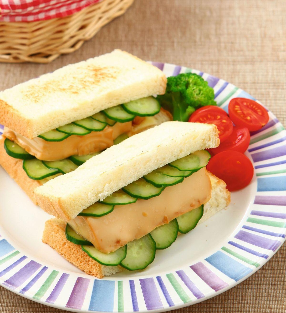 食譜:豆腐三明治