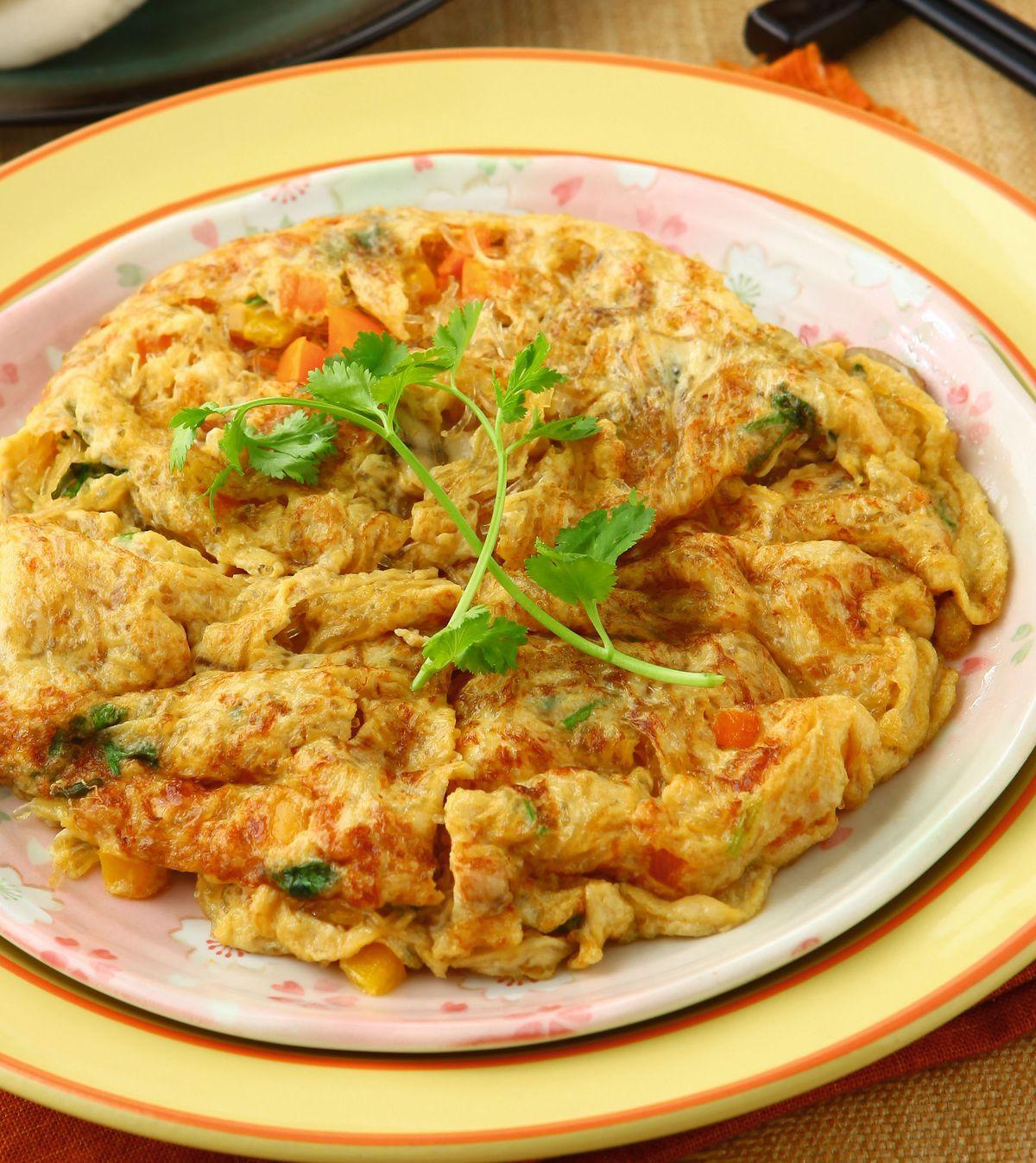 食譜:鮮蔬蛋炒春雨