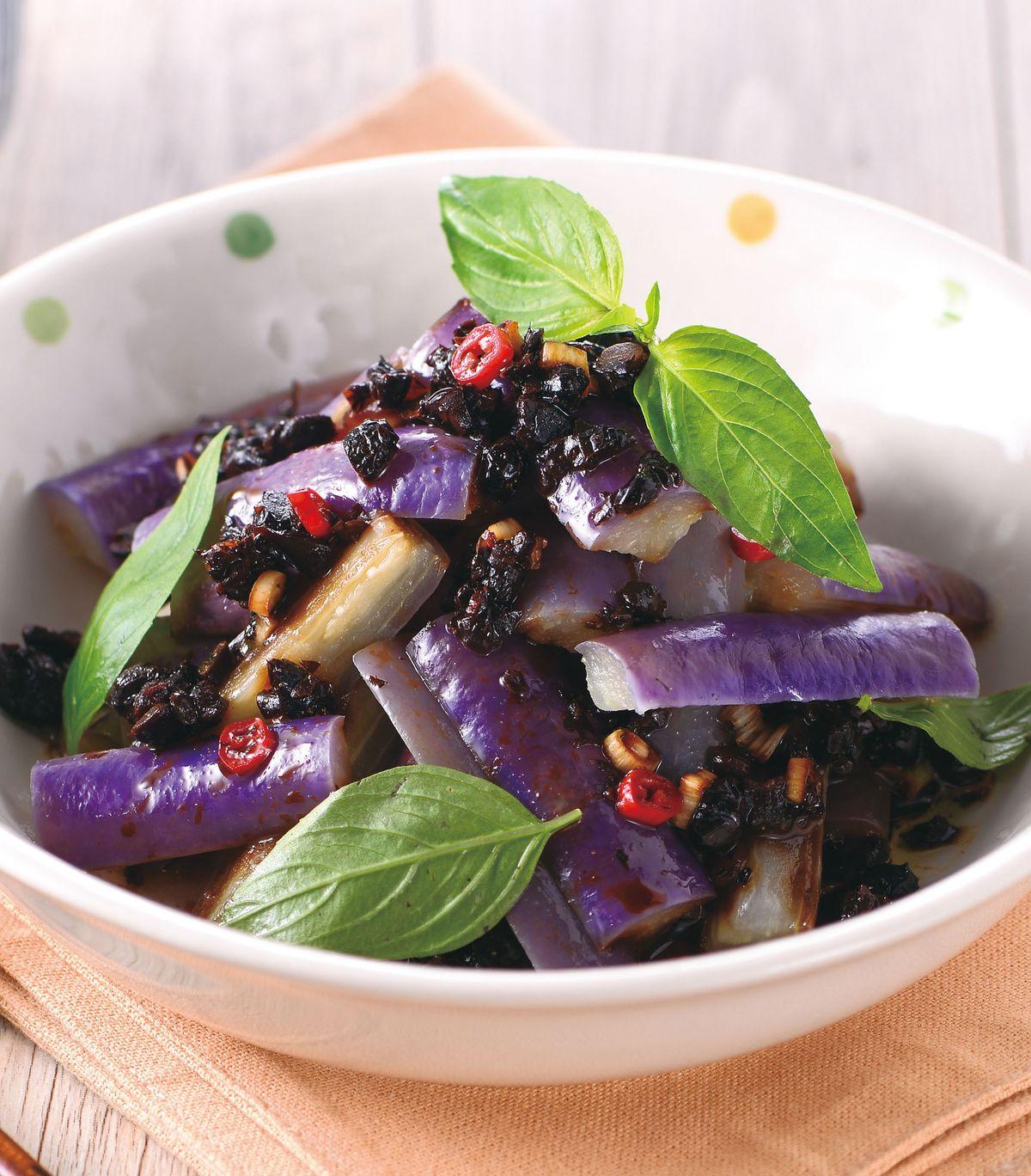 食譜:豆豉蒸紫茄