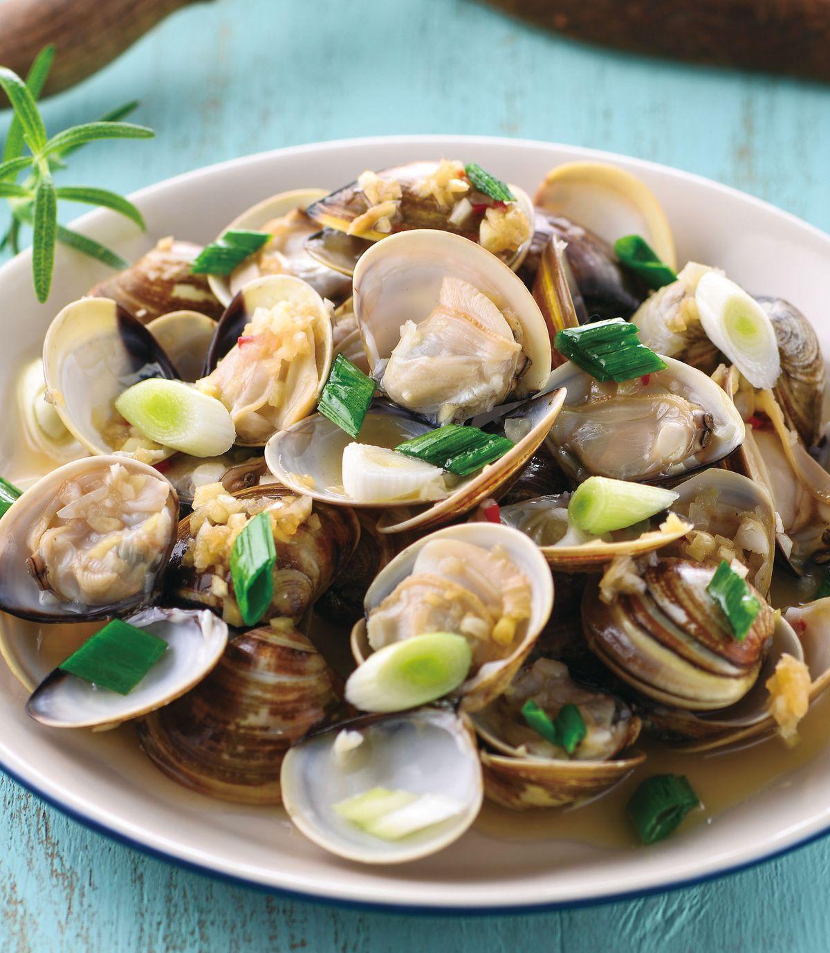 食譜:蒜蓉蒸蛤蠣