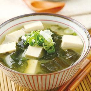 海帶芽味噌湯(2)