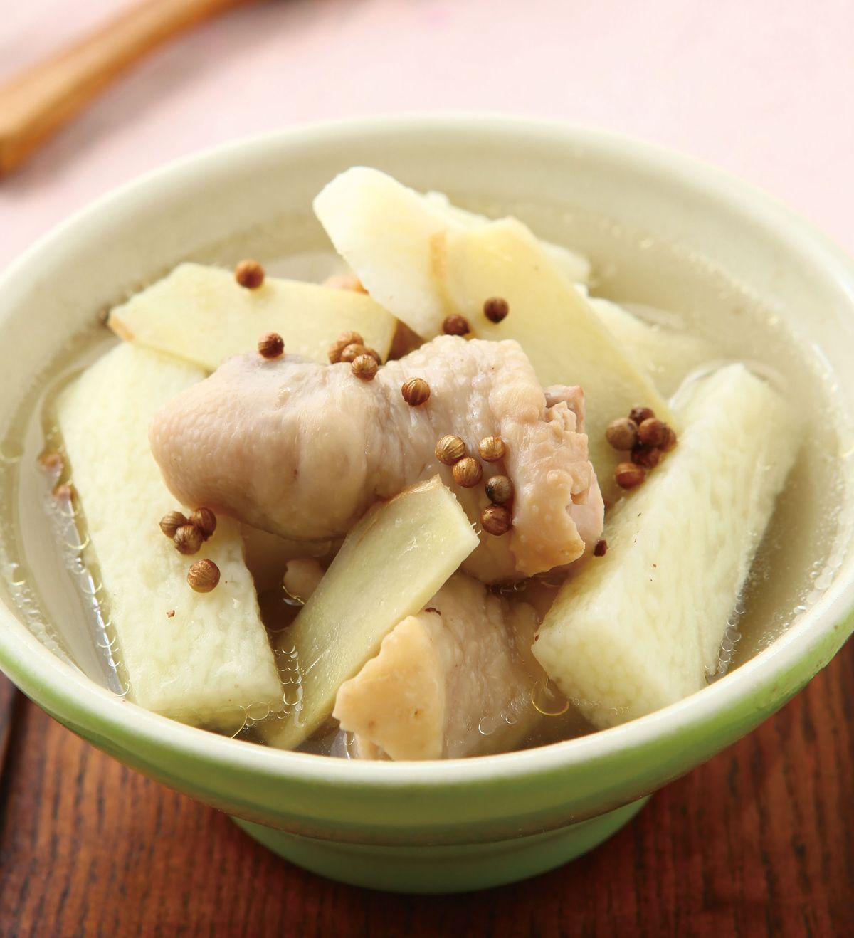 食譜:山藥胡椒雞湯