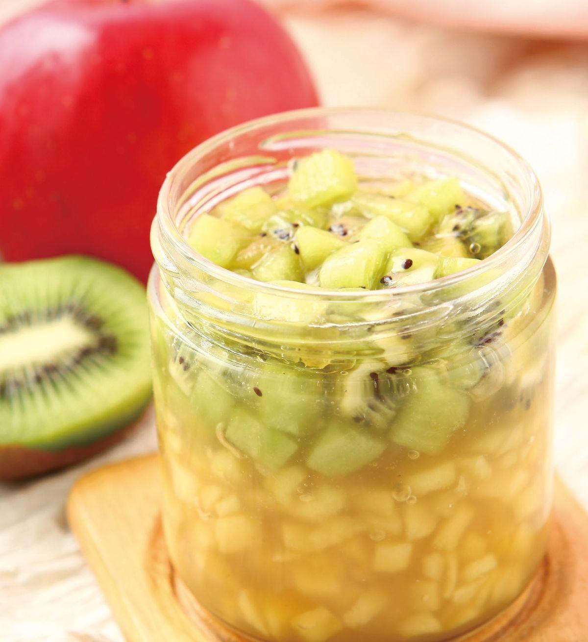 食譜:蘋果奇異果果醬