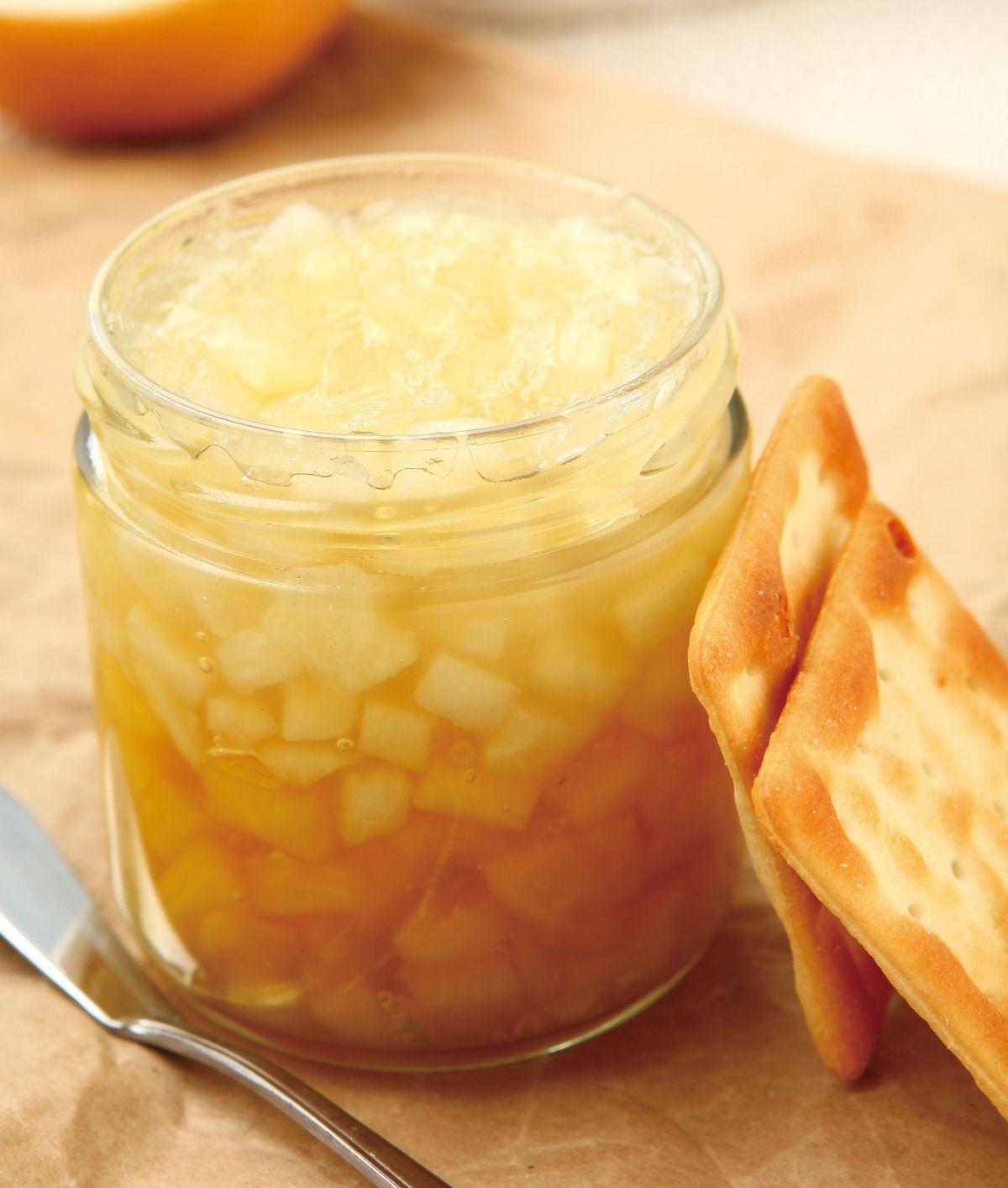 食譜:鳳梨水梨果醬
