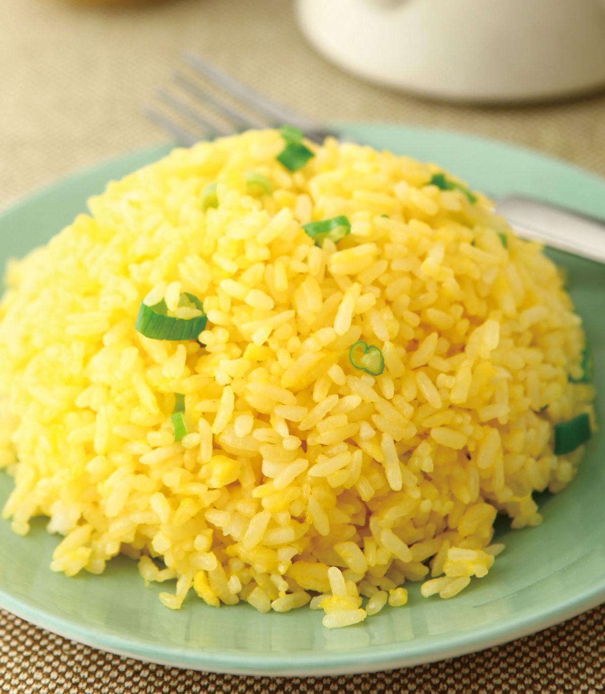 食譜:金黃蛋炒飯(1)