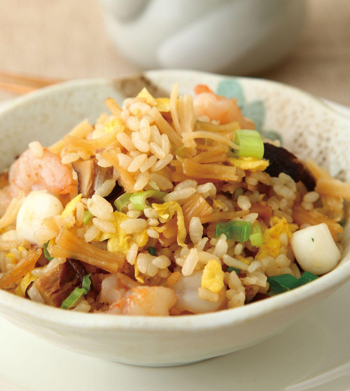 食譜:揚州炒飯(3)
