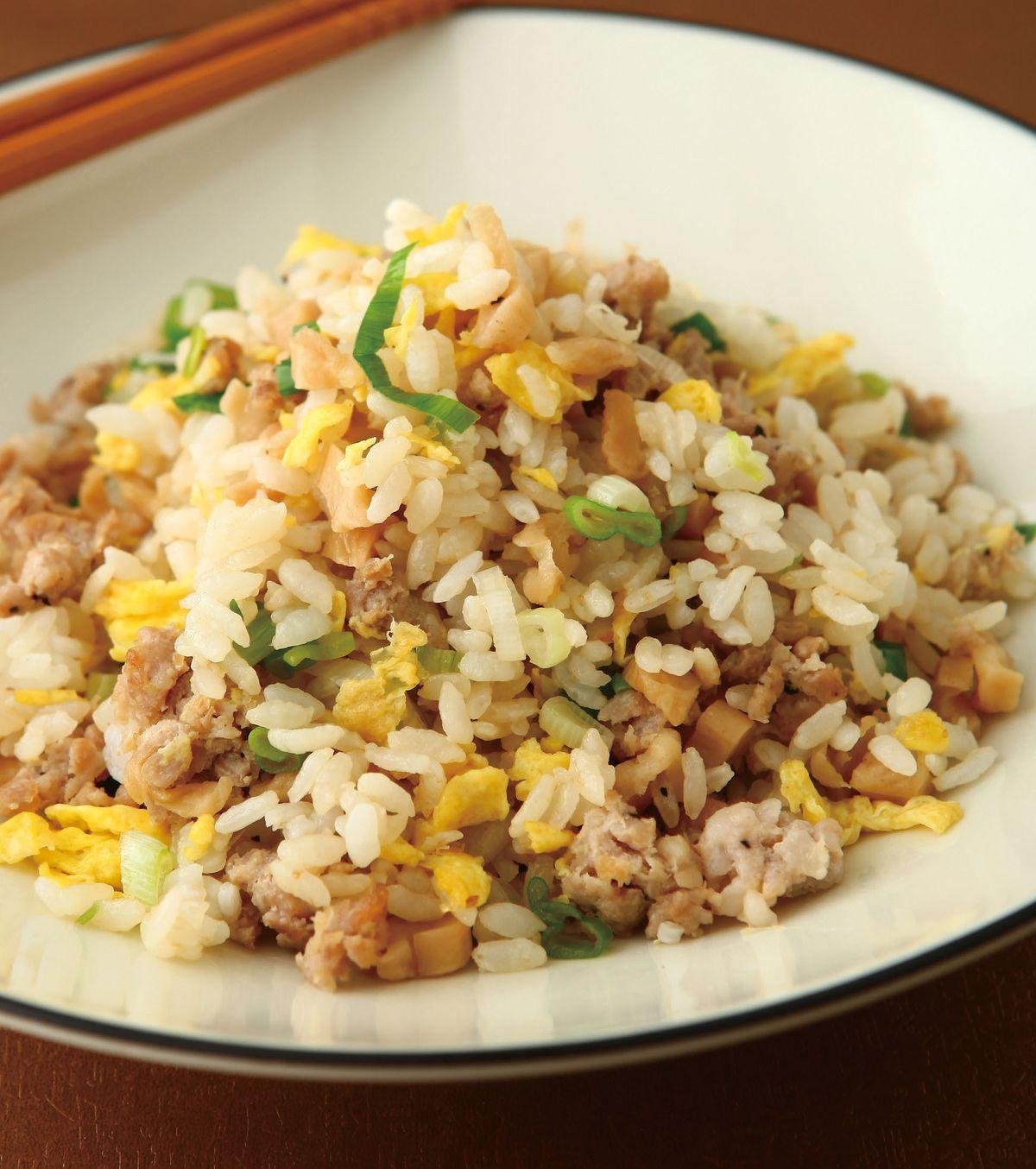 食譜:菜埔肉末蛋炒飯