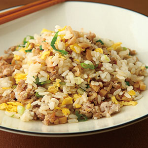 菜埔肉末蛋炒飯