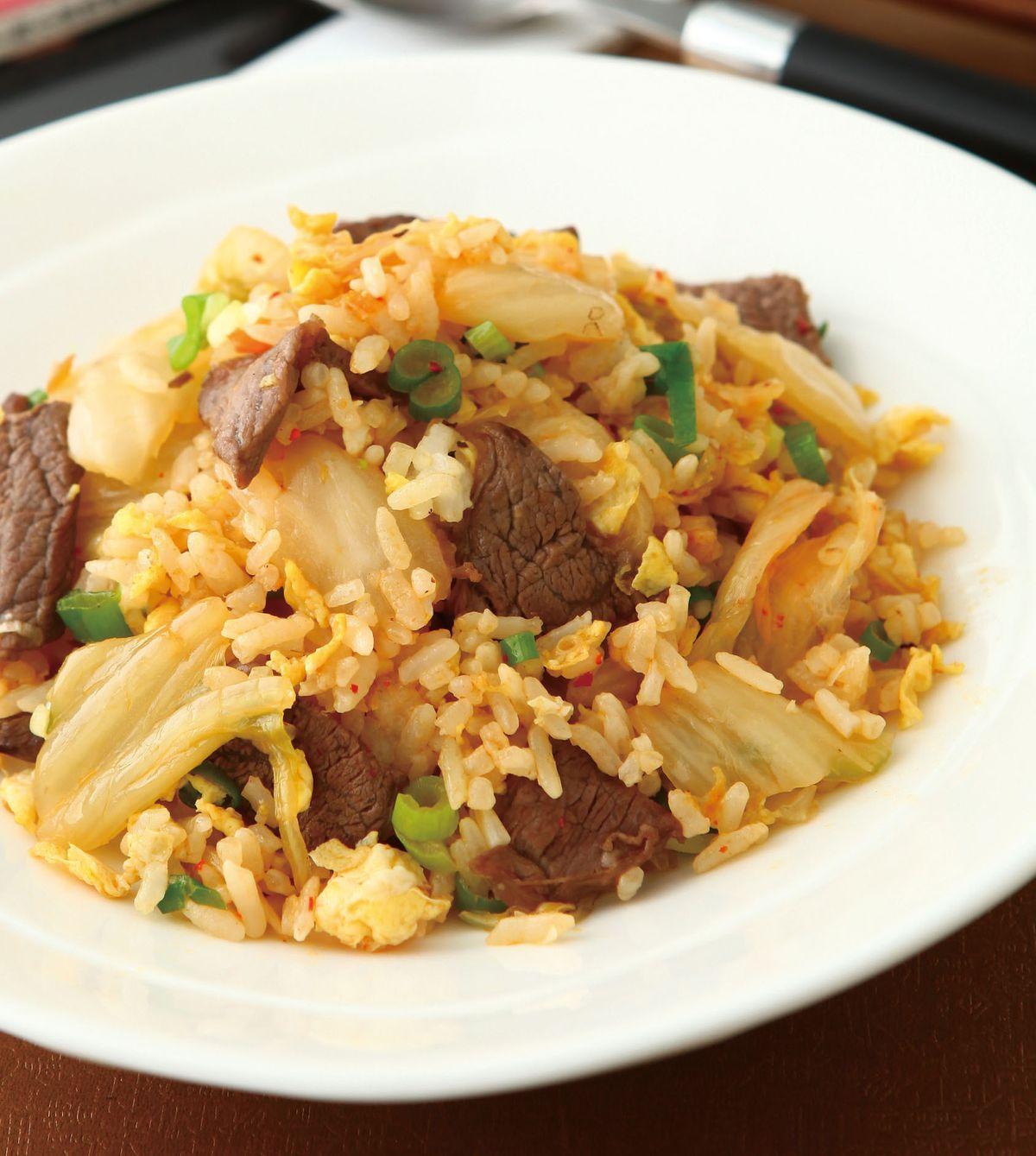 食譜:韓式泡菜炒飯(1)