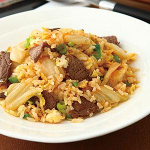 韓式泡菜炒飯(1)