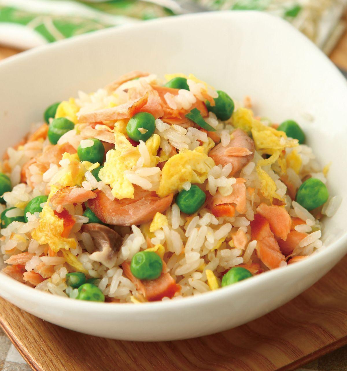 食譜:鮭魚炒飯(7)