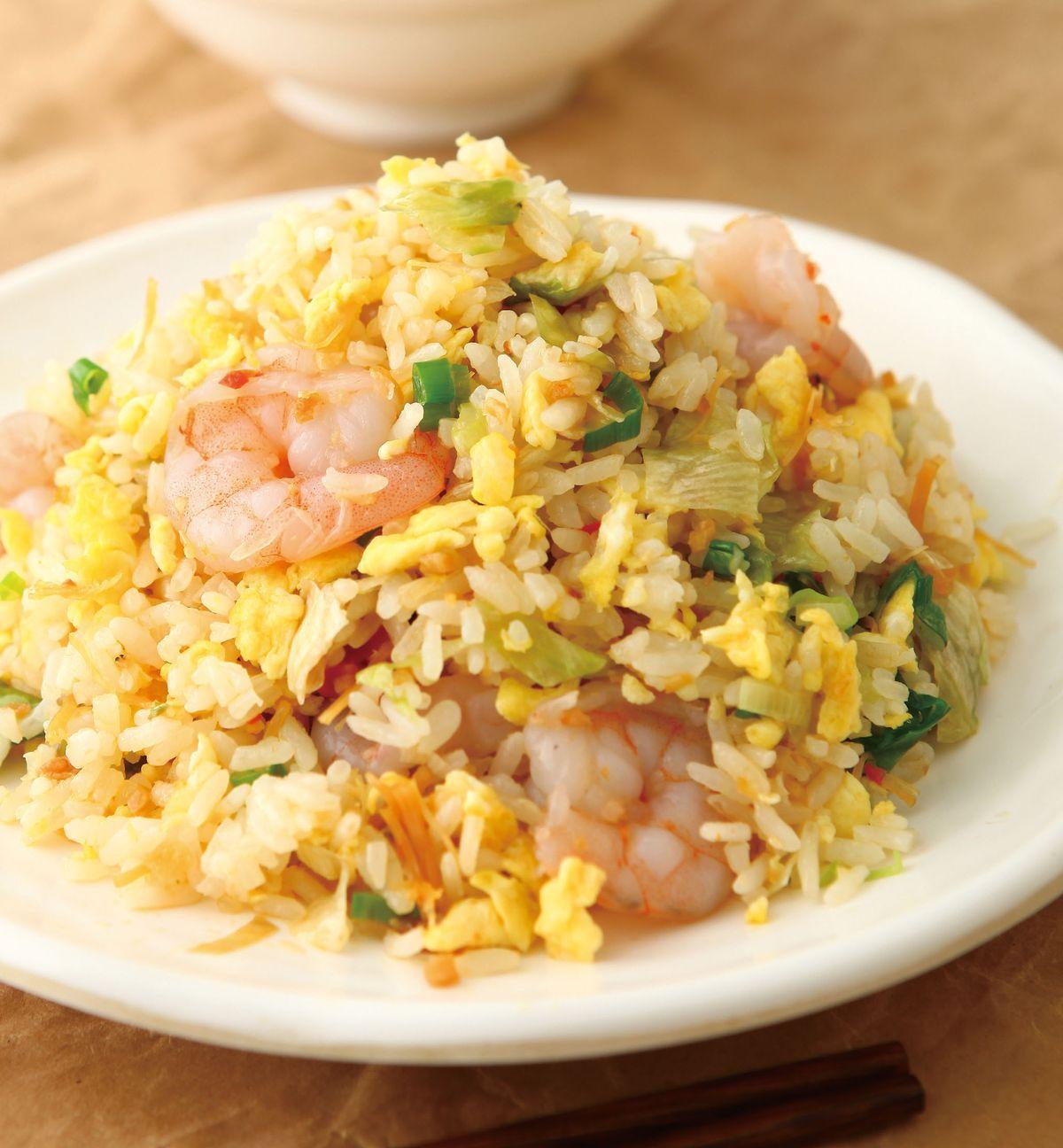 食譜:XO醬蝦仁炒飯