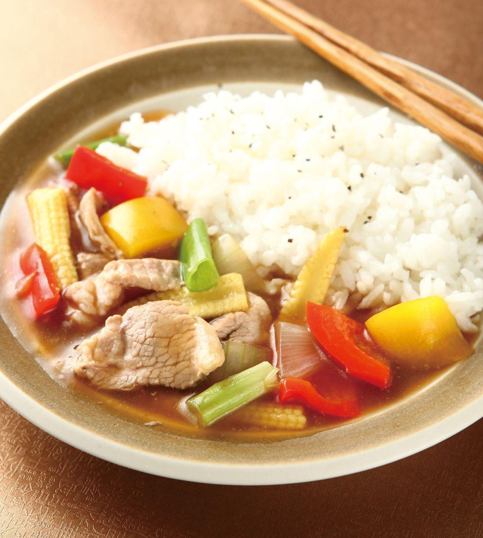 食譜:洋蔥豬肉燴飯