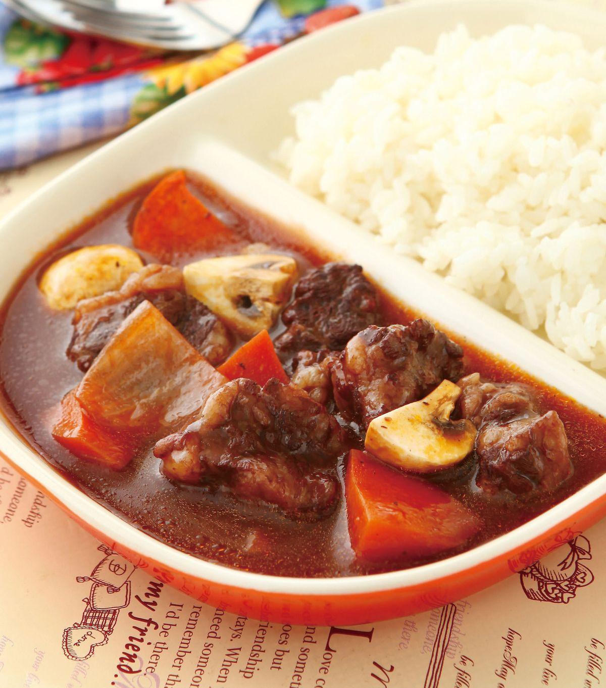 食譜:紅酒牛肉燴飯(1)