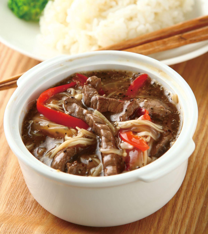 食譜:黑椒牛肉燴飯