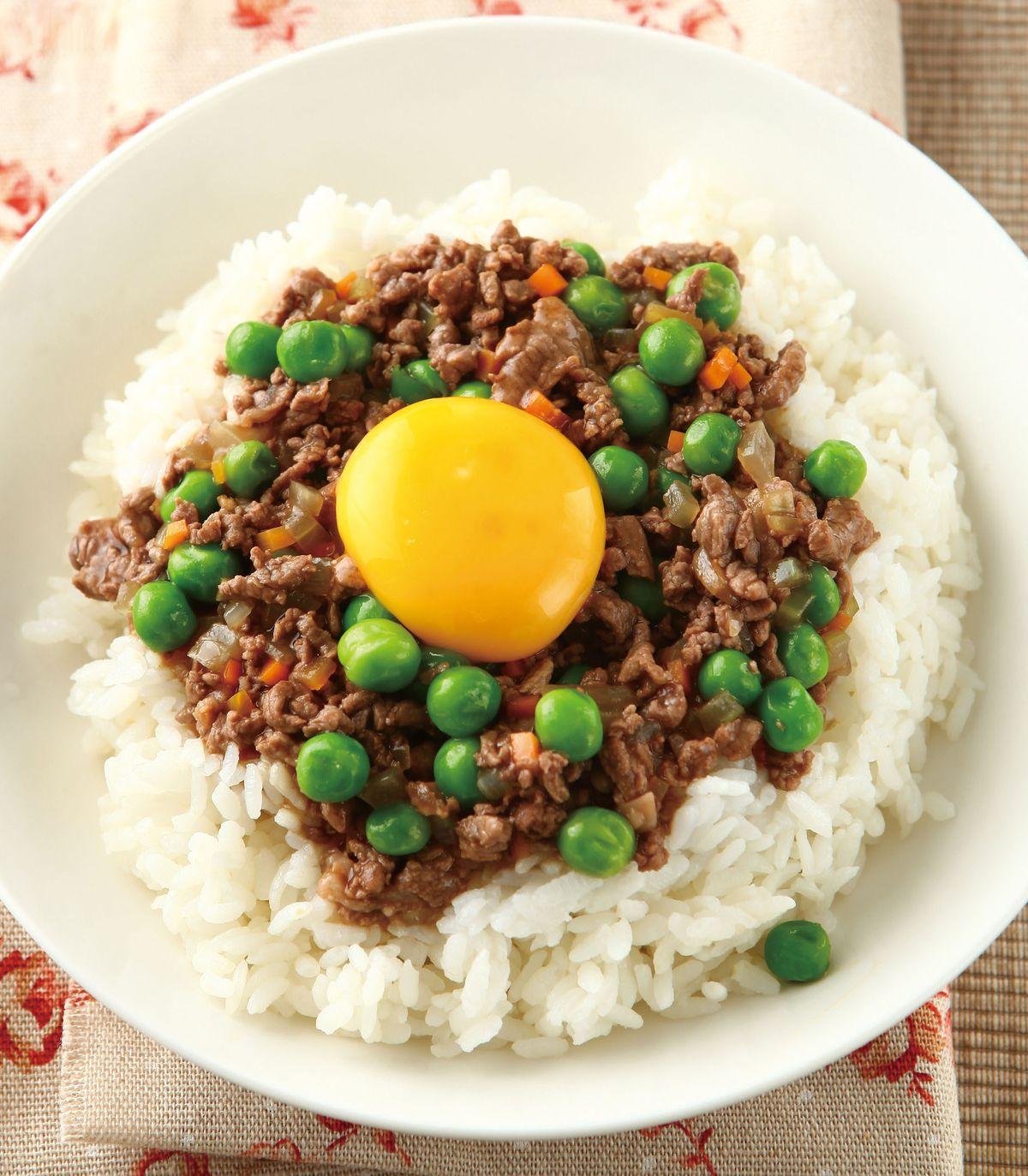 食譜:窩蛋牛肉飯