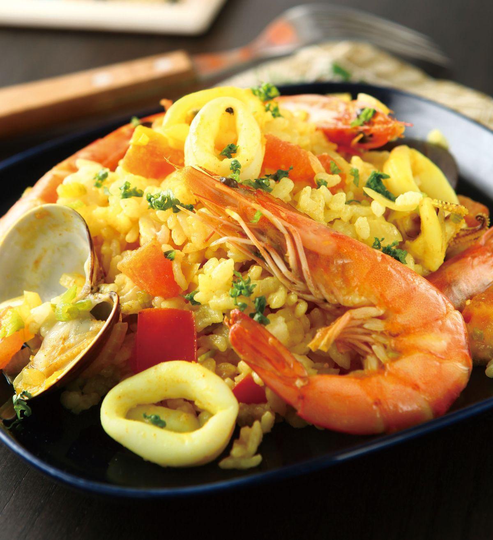 食譜:西班牙海鮮燴飯(1)