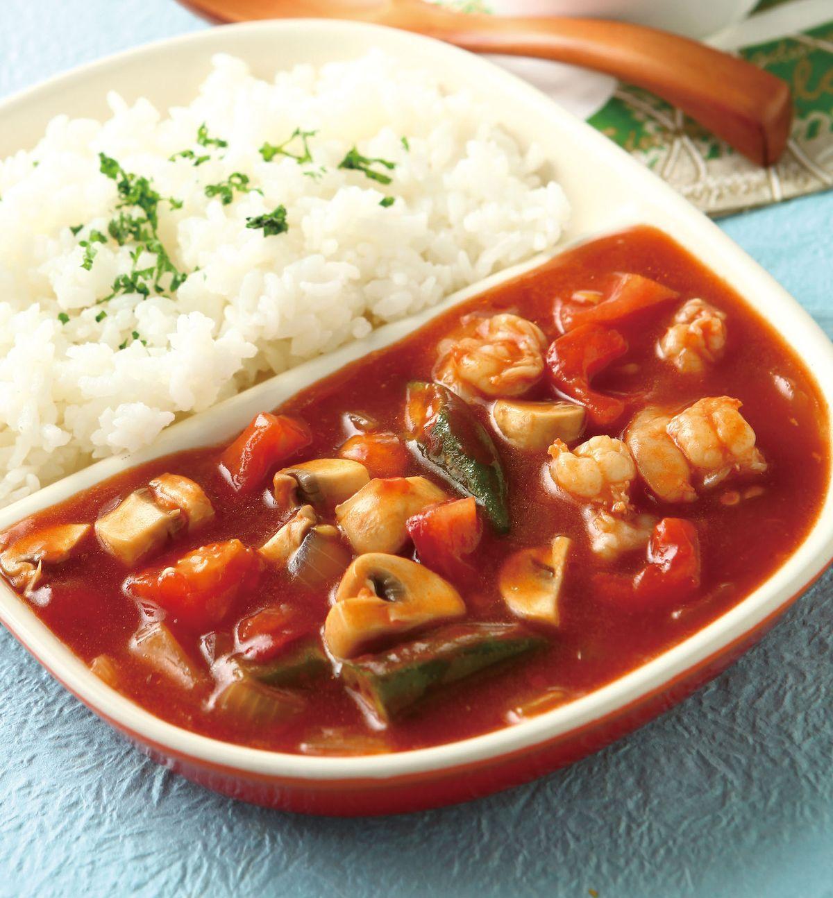 食譜:茄汁蝦球燴飯