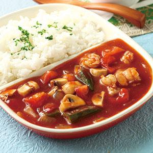 茄汁蝦球燴飯