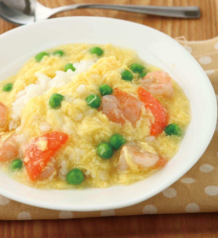 食譜:滑蛋蝦仁燴飯(6)