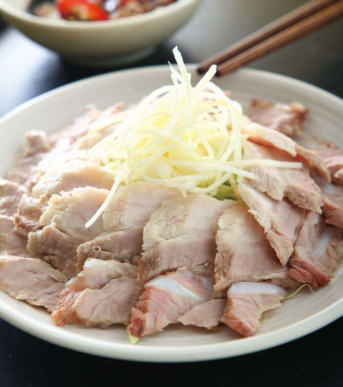 食譜:冷涮五花肉片