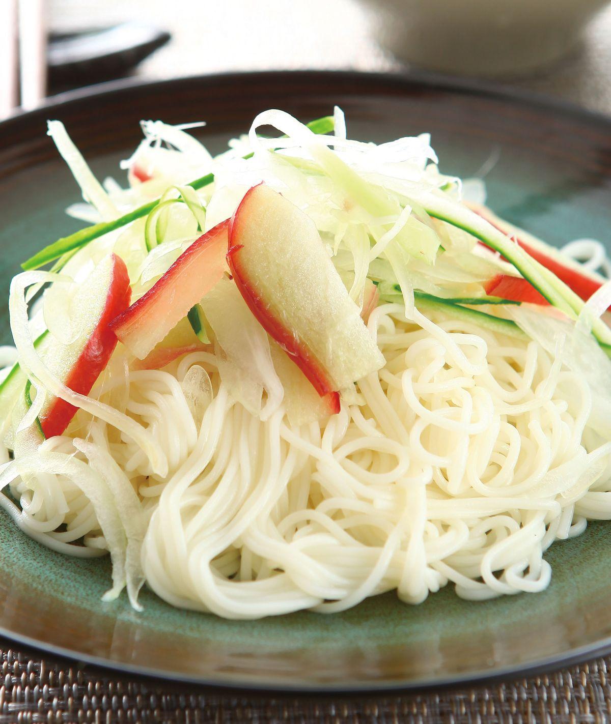食譜:素麵沙拉