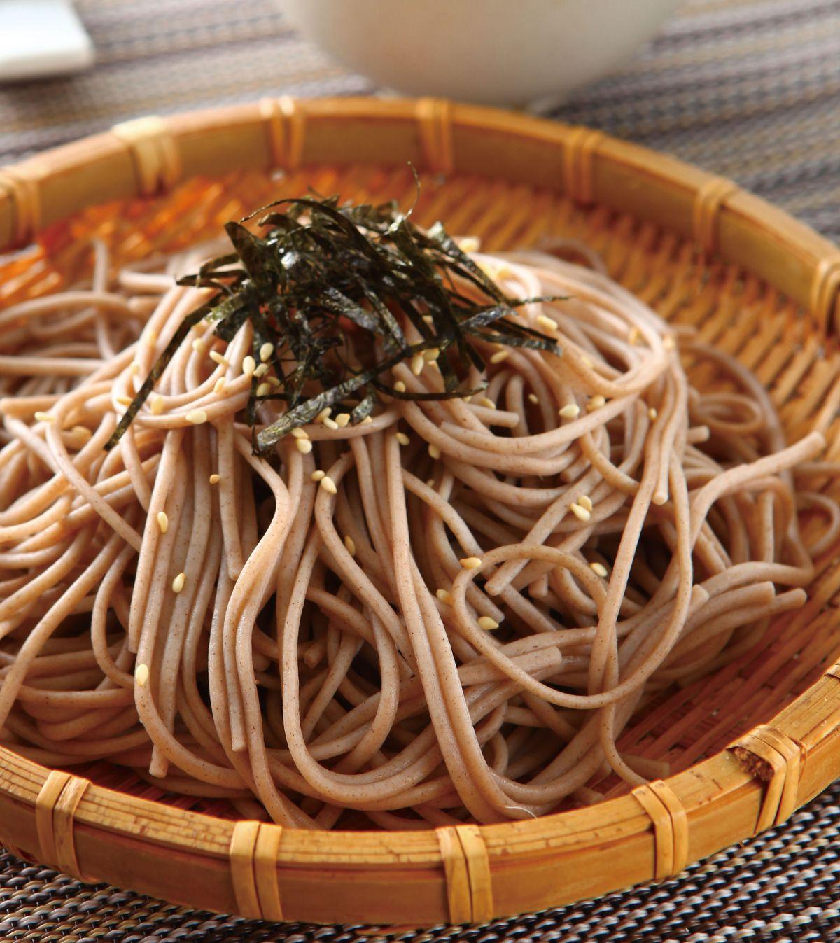 食譜:山藥蕎麥冷麵