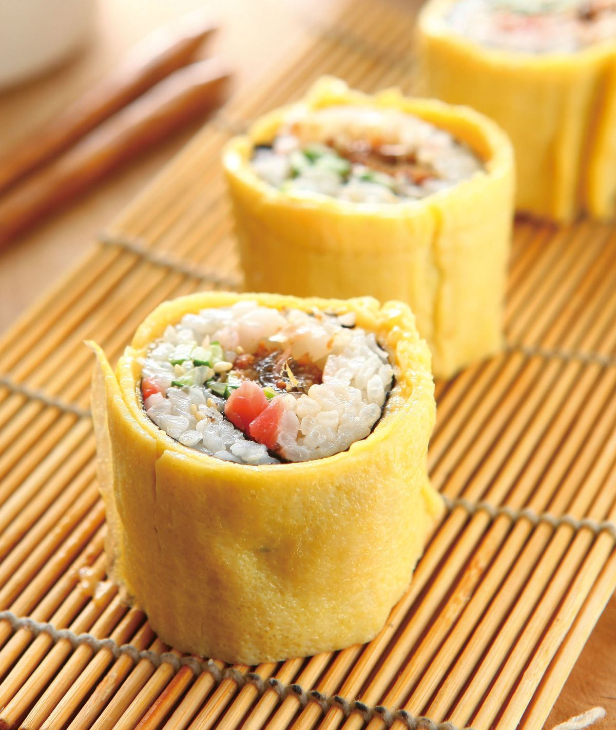 食譜:鰻魚蛋捲壽司