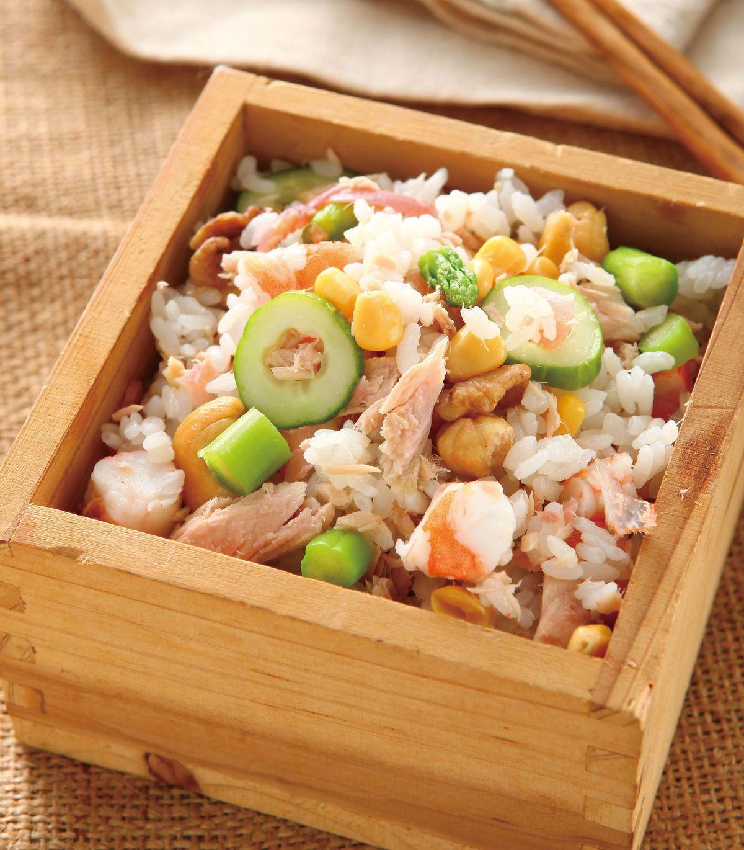 食譜:繽紛壽司