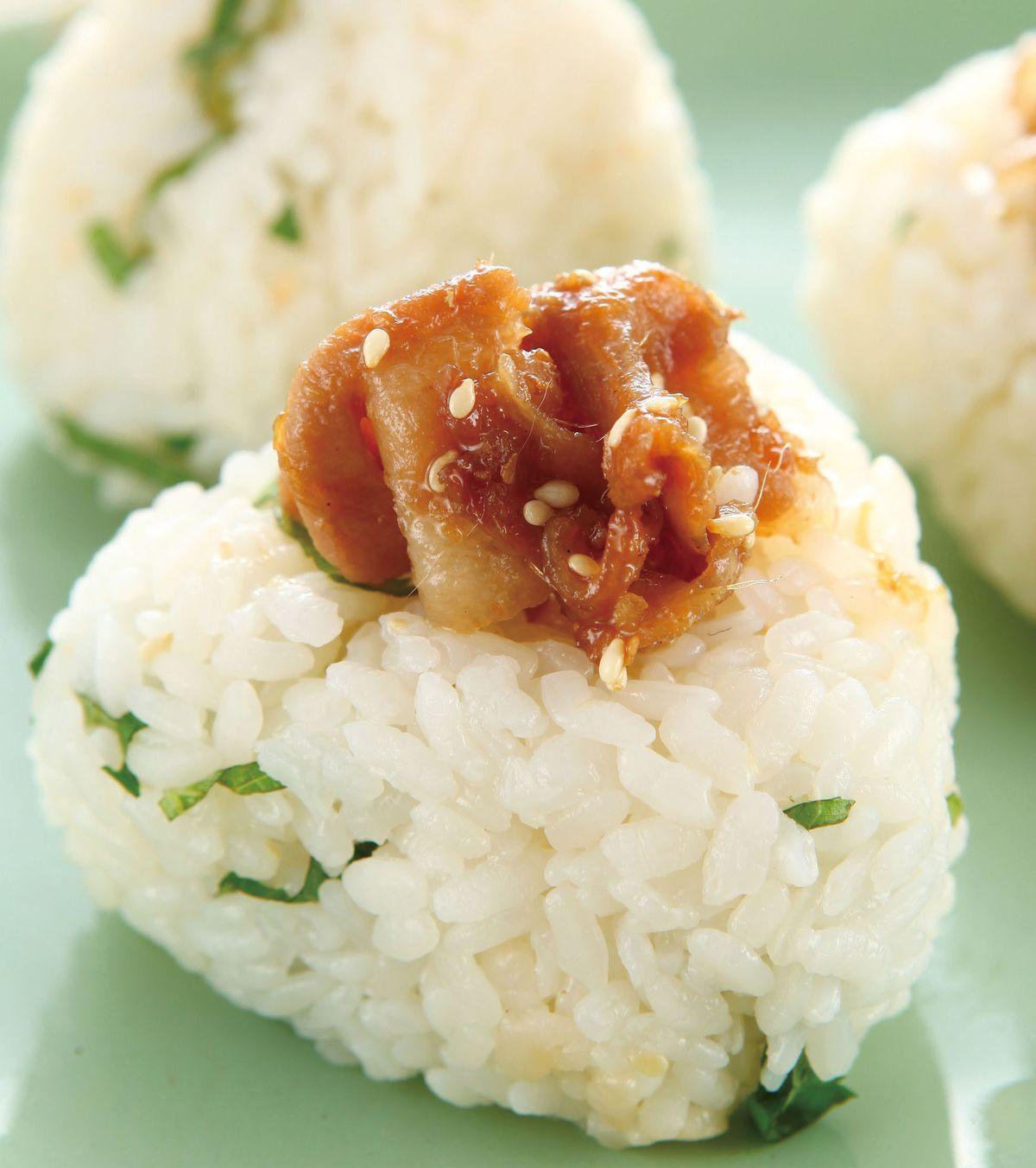 食譜:燒肉壽司飯糰