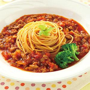 蘿蔔肉醬義大利麵