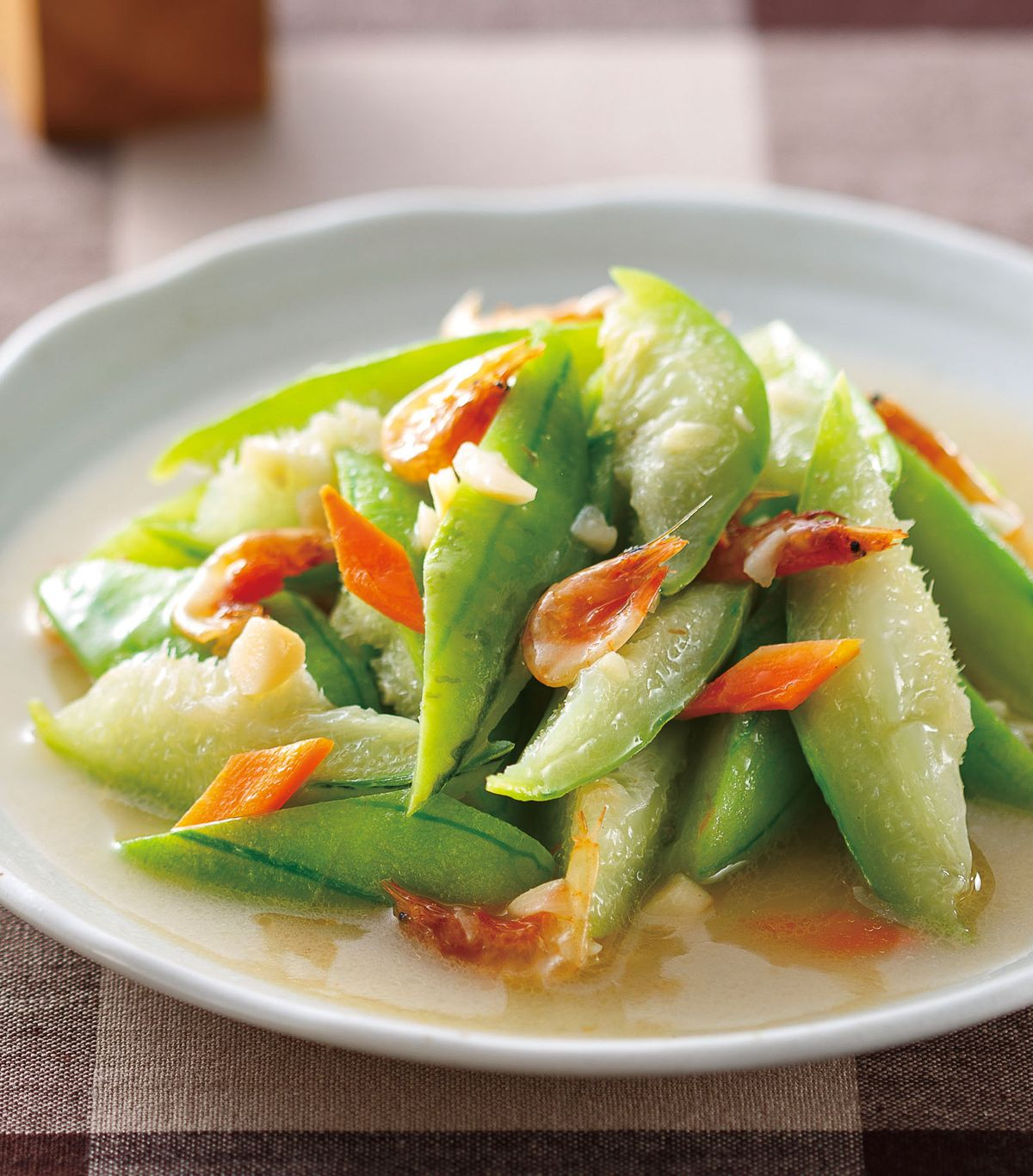 食譜:櫻花蝦炒絲瓜