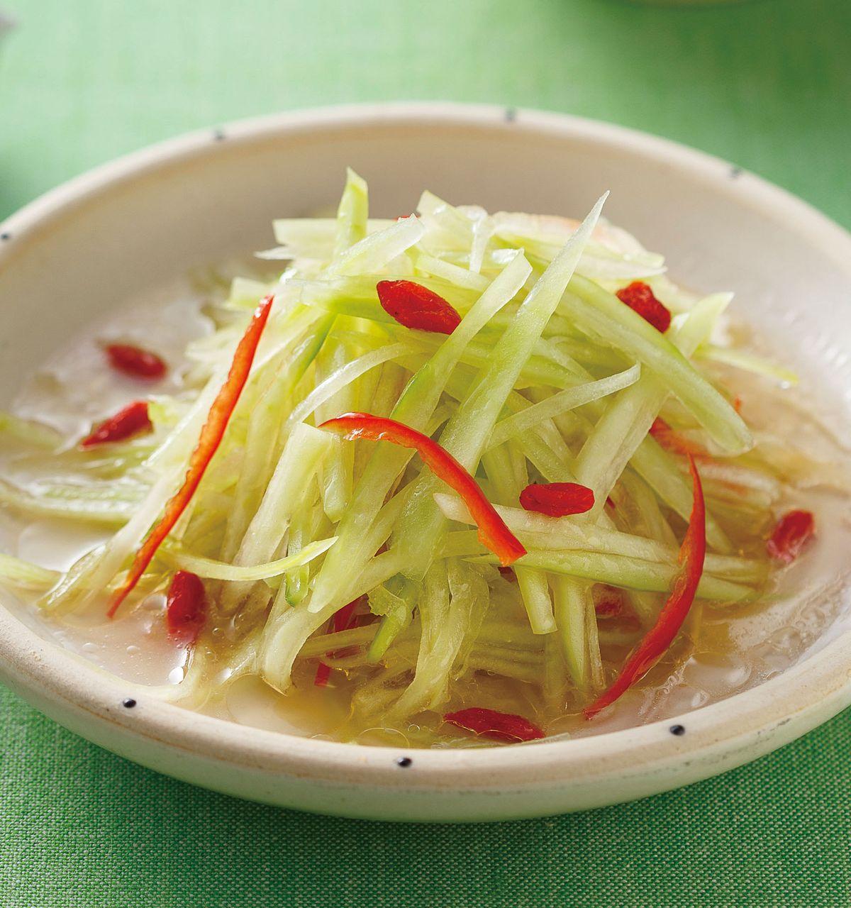 食譜:涼拌西瓜皮(1)