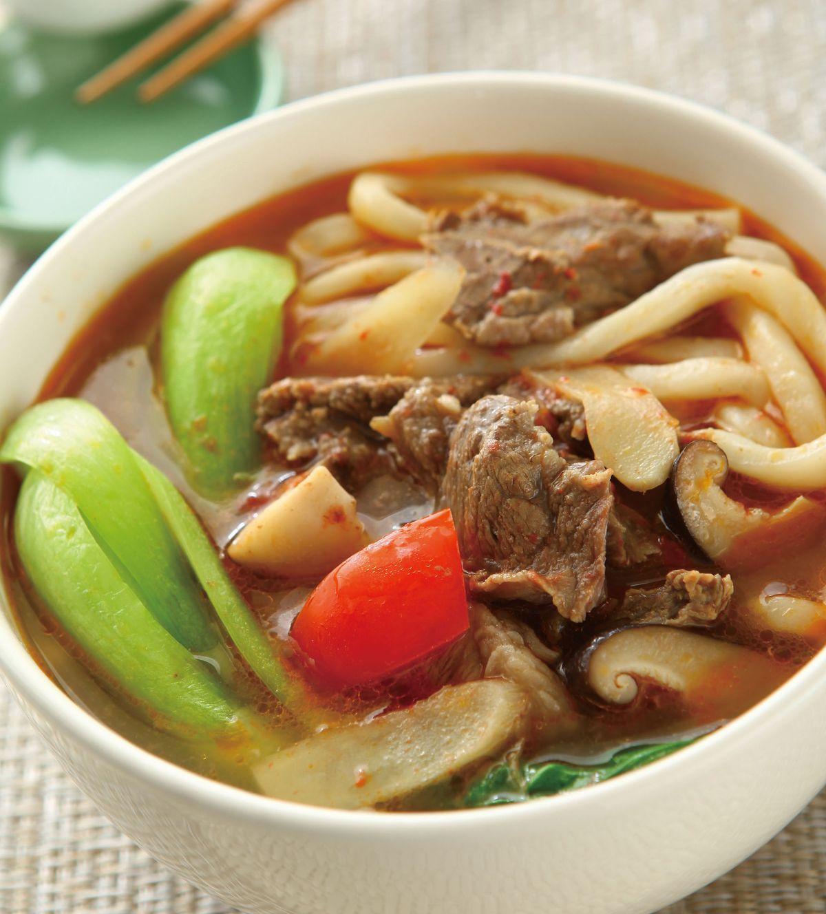 食譜:川味牛肉麵(1)