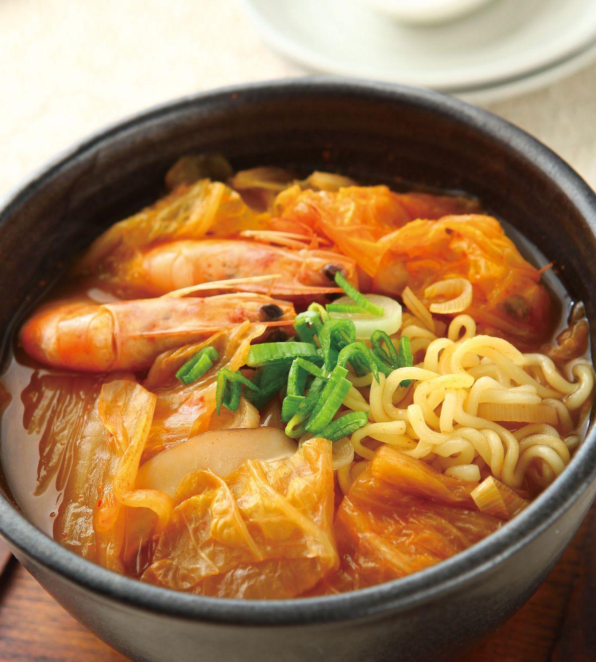 食譜:韓式泡菜麵