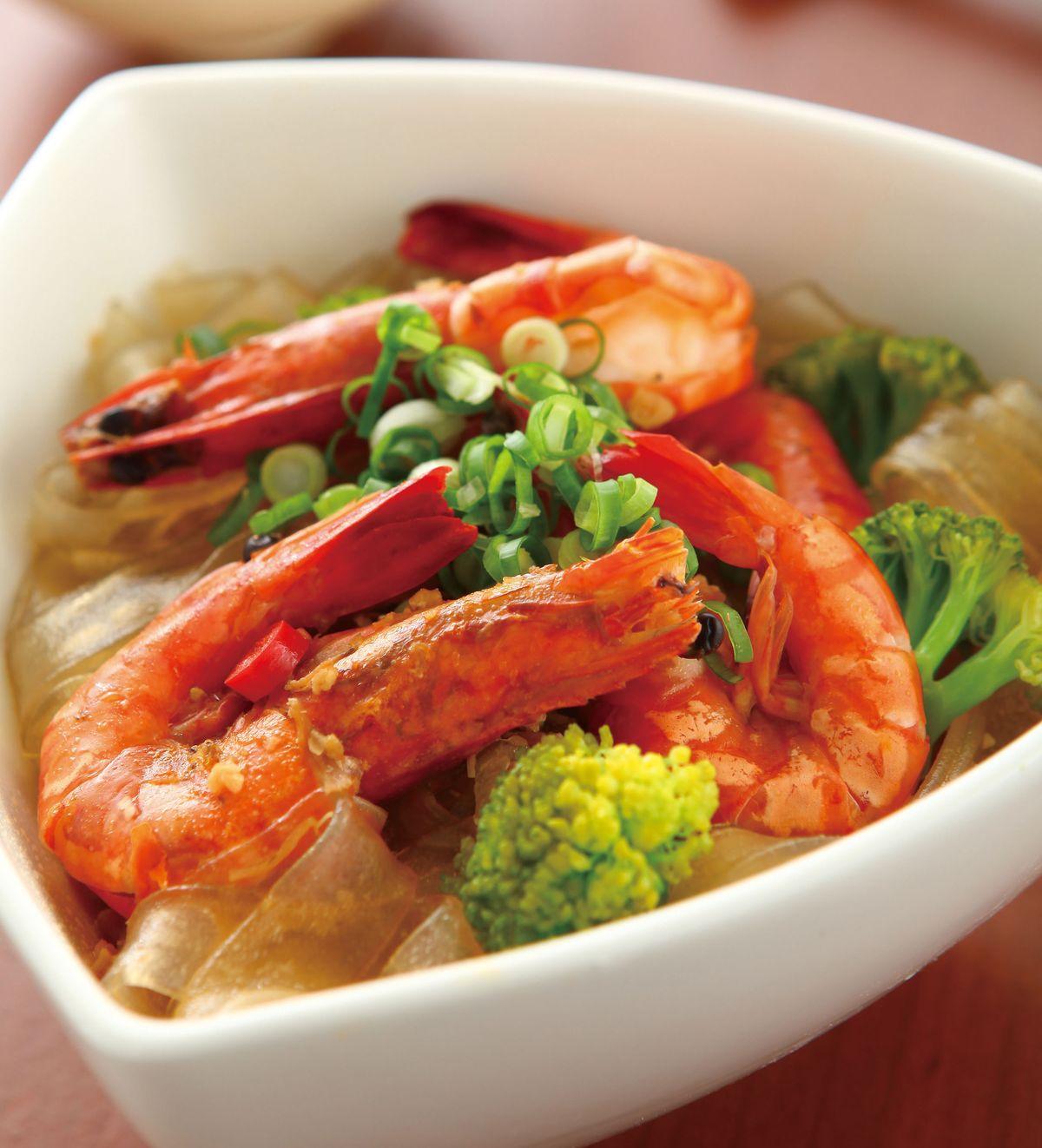 食譜:XO醬鮮蝦燴河粉