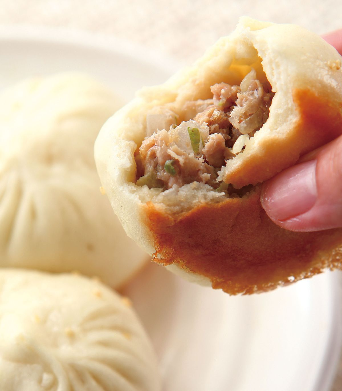 食譜:香蔥鮮肉煎包
