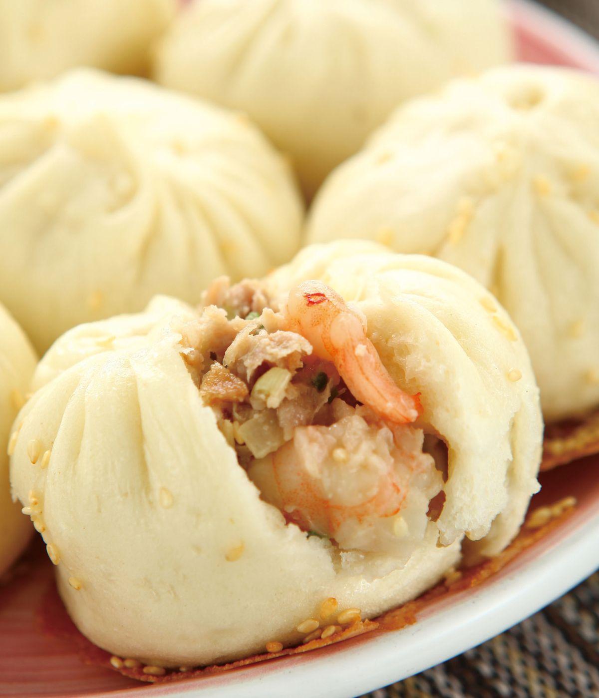 食譜:蝦仁韭黃煎包