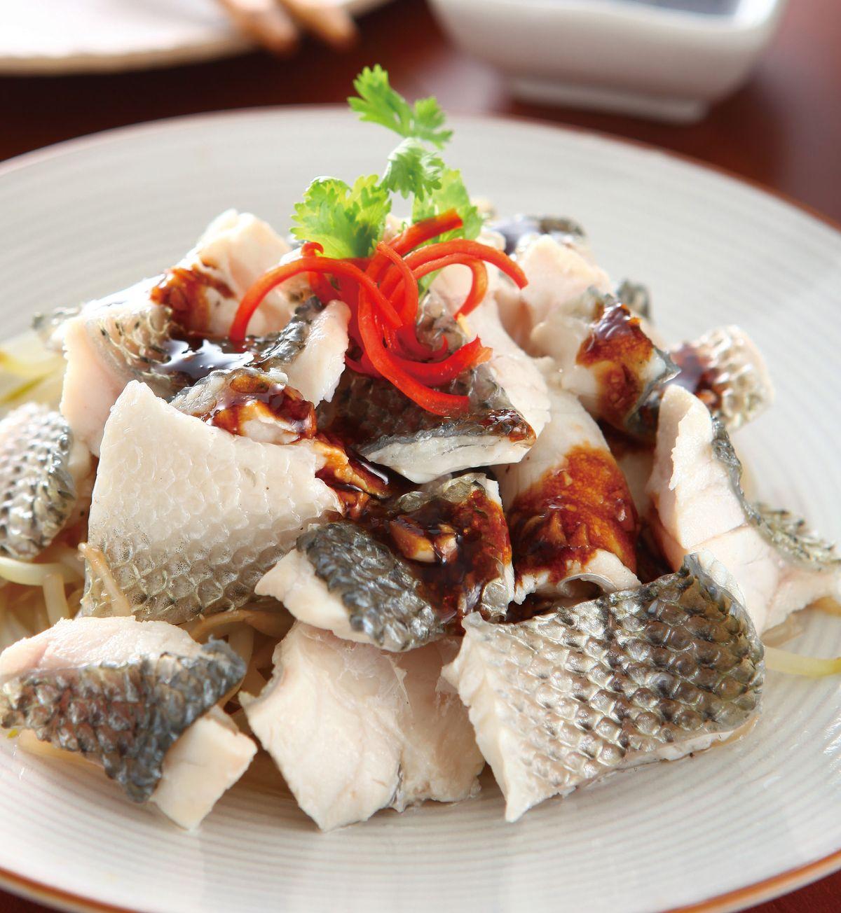食譜:涼拌魚片