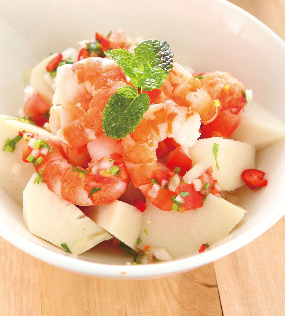 食譜:莎莎涼筍蝦